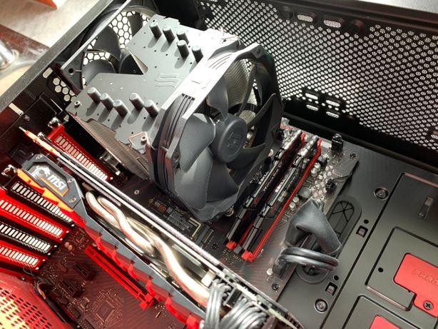 Komputer PC I5 8600 GTX 1070 TI 8gb MSI gaming - 16 GB ram - gwarancja