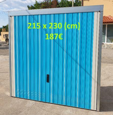 A Loucura… Portão basculante a preço de saldo… (215x230 cm)