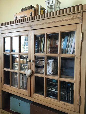 vitrine, estante, livreiro, louceiro, armario, casquinha, rustico