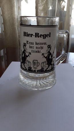 Немецкий пивной бокал