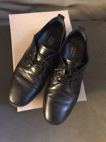 Skórzane buty garniturowe Lasocki chłopięce rozmiar 36