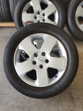 Диски Opel оригінал r16 5x110 з резиною Bridgestone