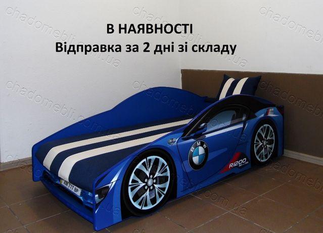 Ліжко машина з матрасом механізмом кровать машина БМВ кроватка 80х170