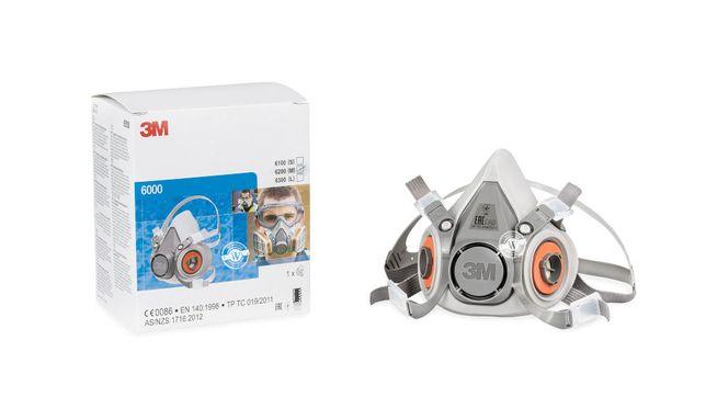 Полумаска 3М 6200. маска респиратор 3М 6200