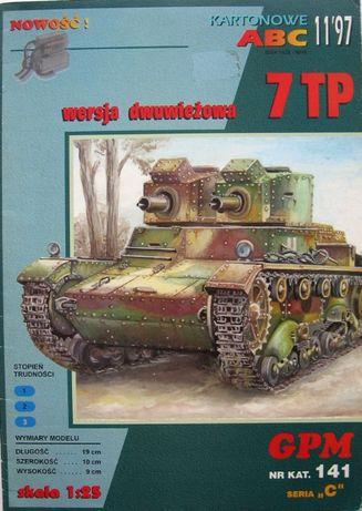 GPM 11/1997 nr 141 7 TP Czołg dwu wieżowy