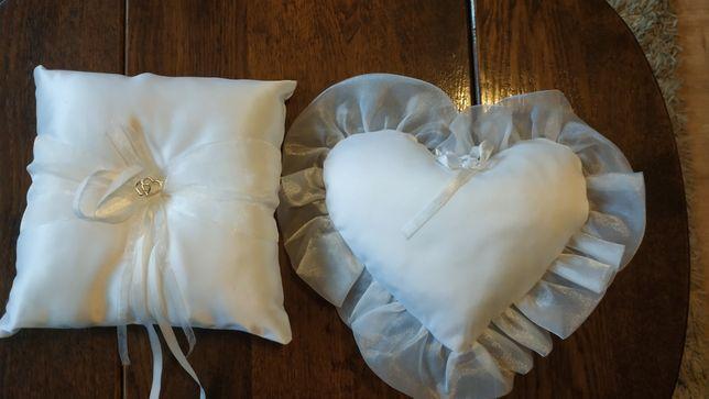 Poduszki na obrączki ślubne