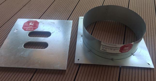 Szalunek tracony + szablon komin systemowy Schiedel Rondo Plus