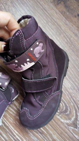 Ботинки сапожки детская обувь 25размер