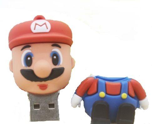 Pen Drive Super Mario 16 GB Novo