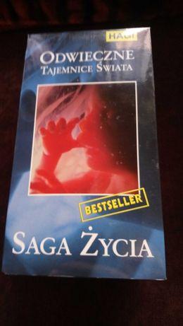 Saga Życia Odwieczne Tajemnice Świata kaseta VHS