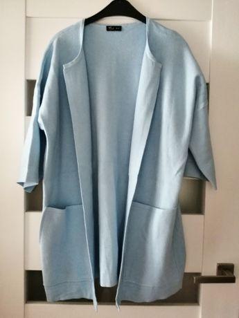 Nowy błękitny sweterek Makalu
