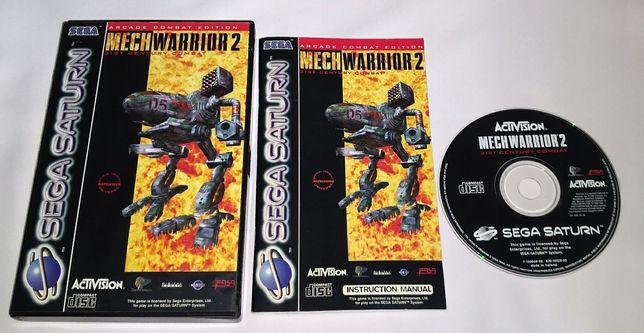 Mechwarrior 2 (Sega Saturn) PAL komplet