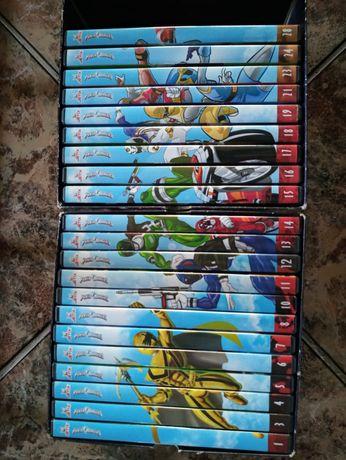 Płyty DVD Power Ranger