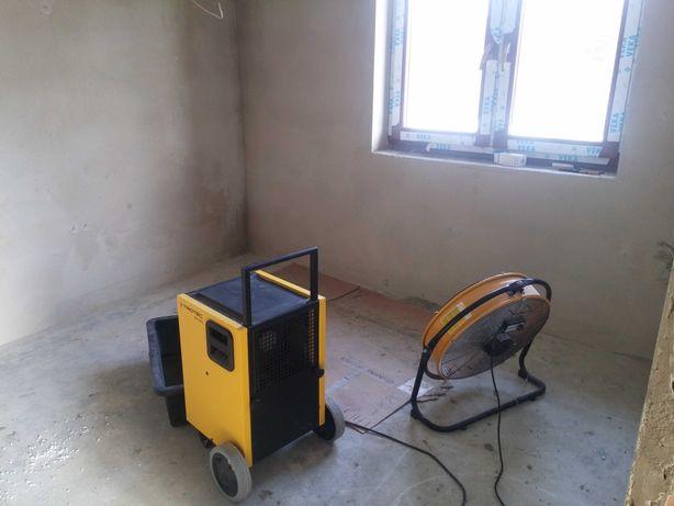 Wynajem osuszaczy powietrza Osuszacz powietrza wydajność do 150 l/24