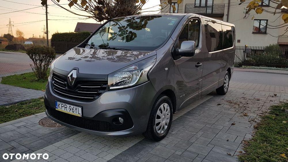 Renault Trafic 9 Osobowy, Zadbany, Niski Przebieg, Wersja Long Карабиновка - изображение 1