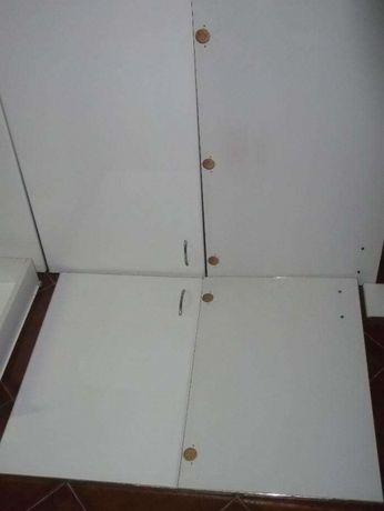 Frente de cozinha medidas standard (portas 55x90cm, com puxadores)