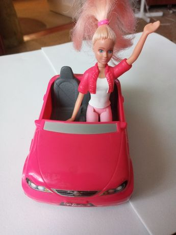 Барби в машине / Macdonald's /и кресло