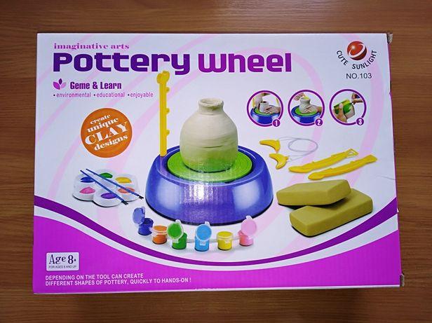 Набор для творчества - Гончарный набор для детей Pottery Wheel