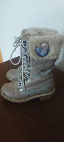 Buty ocieplane dla dziewczynki ELSA Frozen