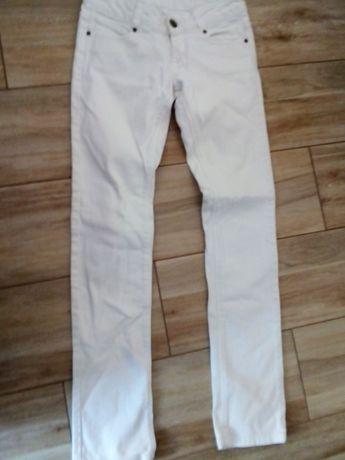 Białe jeansy Topshop roz. S
