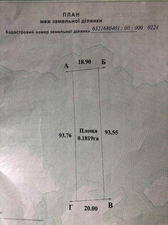 Продам участок в Верхнем Салтове Харьковской области с выходом к воде
