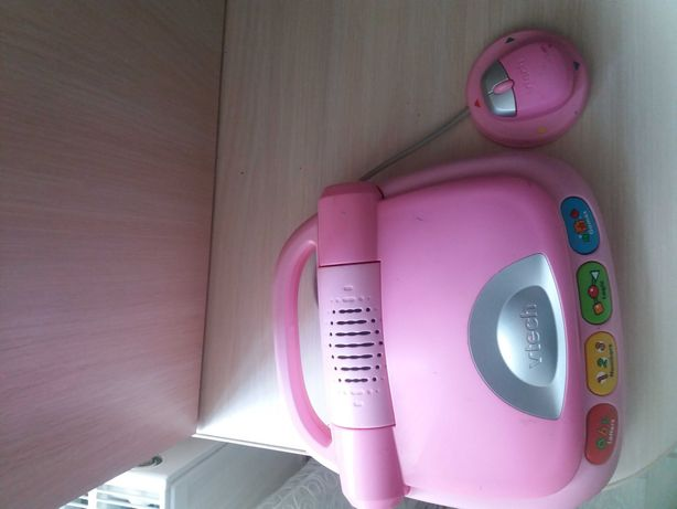 Ноутбук розовый vtech
