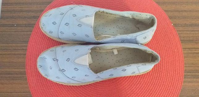 Niebieskie buty damskie rozmiar 37
