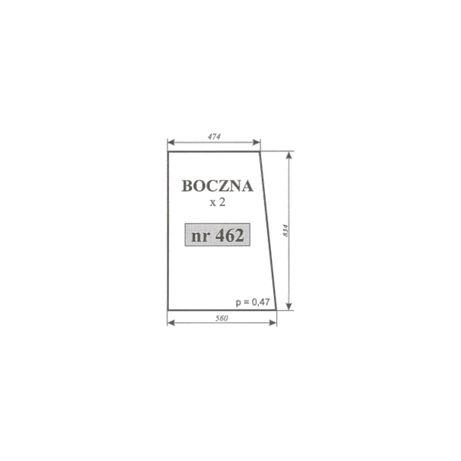 Szyba boczna Ursus 3502, 2802 Ogrodnik Koja Smolniki ACX179
