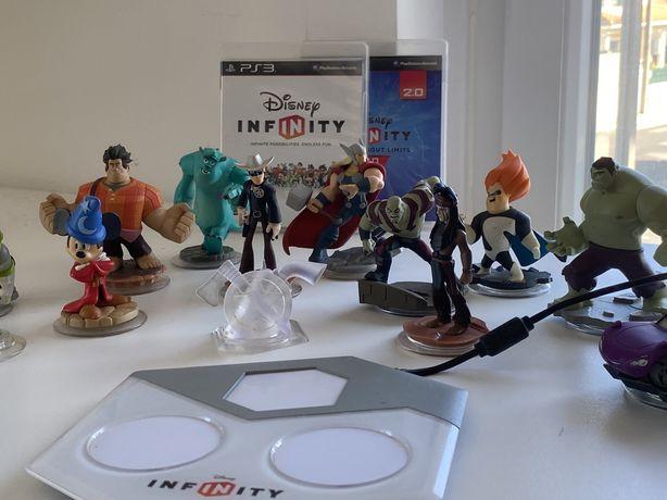 JOGO DISNEY INFINTY + DISNEY INFINITY 2.0 + 15 Figuras e Plataforma