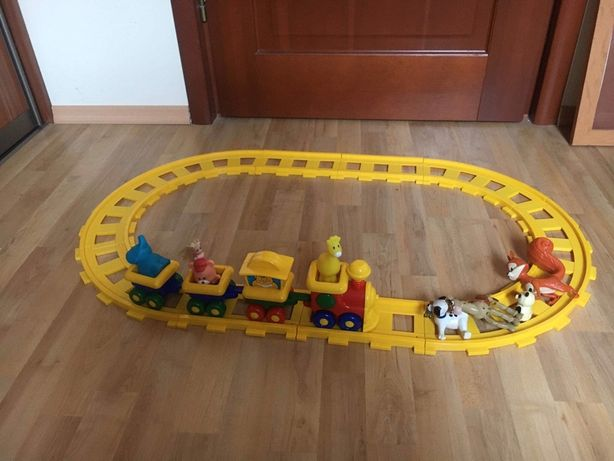 Kolejka tory dla dziecka zabawka
