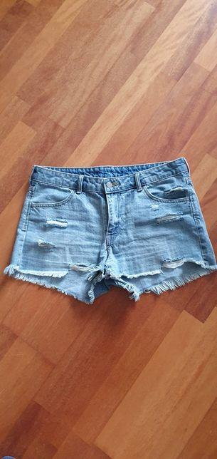 Spodenki jeansowe hm 40