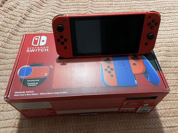 Nintendo Switch V2 Edição Mario