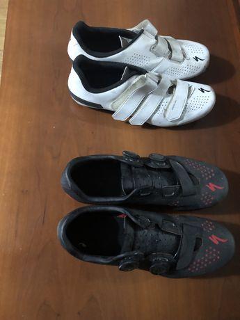 Capacete e botas Specialized