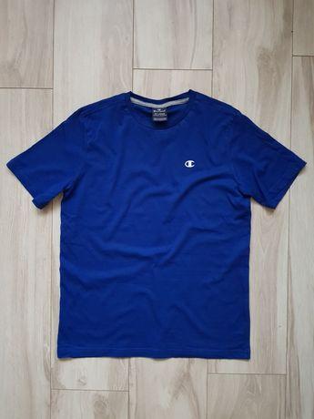Koszulka Champion niebieska 174-179 cm