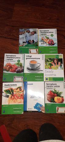 Sprzedam książki do gastronomii