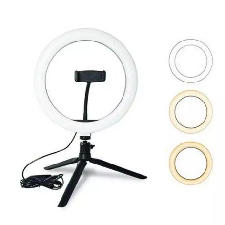 Anel de luz para selfie 10 polegadas ( Ring Light )