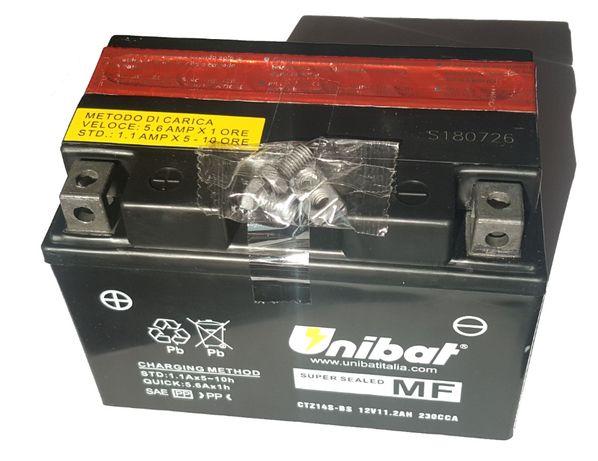 Akumulator Unibat AGM CTZ14S-BS YTZ14S-BS ETZ14S-BS 11.2Ah 230A 12V