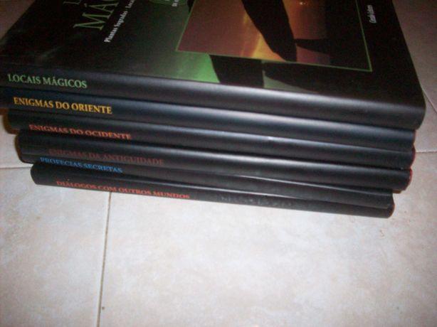Colecção Grandes Enigmas da Humanidade Circulo leitores (6 vol)