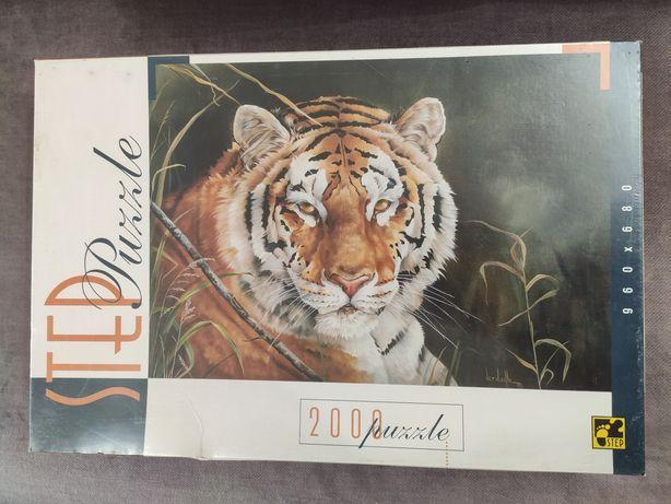 Новый пазл STEP Puzzle 2000 Тигр
