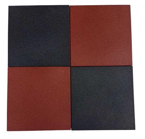 Bezpieczna nawierzchnia gumowa 50x50x2.5cm płyty