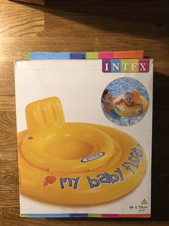 Dmuchane bezpieczne kółko do pływania - INTEX