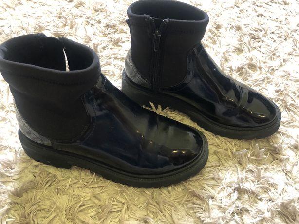 Осінні чобітки Zara, 31 розмір