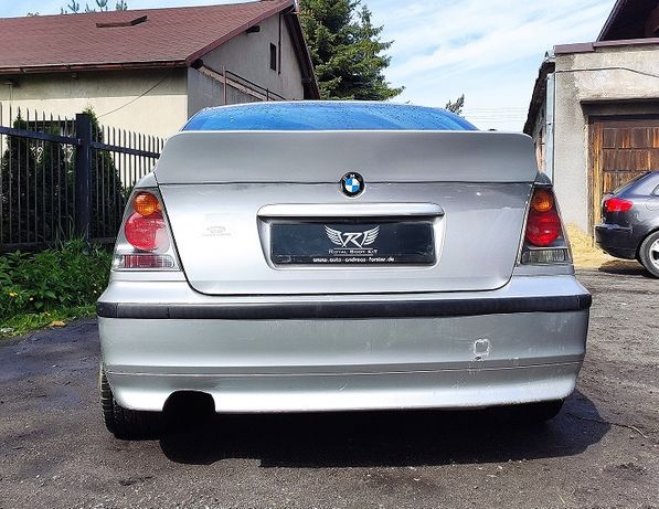 BMW E46 Compact DUCKTAIL Spoiler R.B.K.