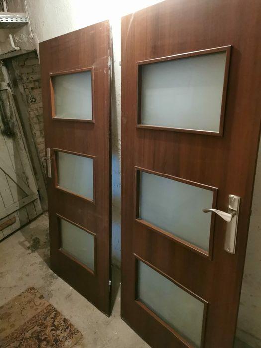 Drzwi wewnętrzne 3 szt komplet okazja Gdańsk - image 1