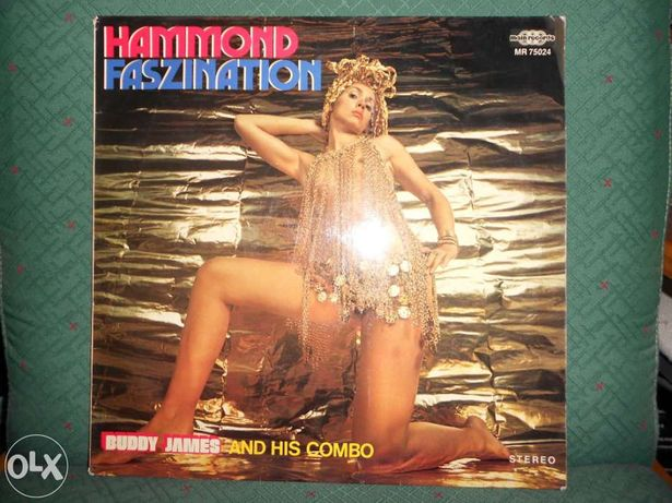 Buddy james and his combo – hammond faszination - Vinil