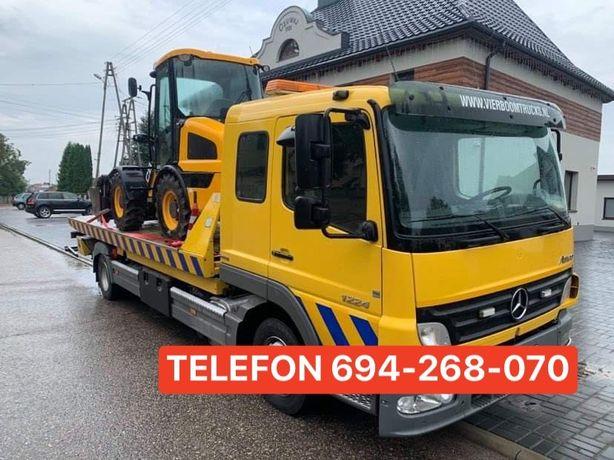 Autolaweta Transport Traktorow Maszyn Rolniczych Busow Aut Autoholowan