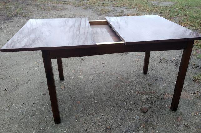 Stół rozkładany na wysoki połysk