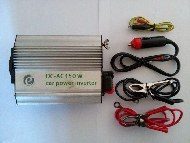 Инвертор 12/220 Вольт. Energenie DC-AC 150 W.