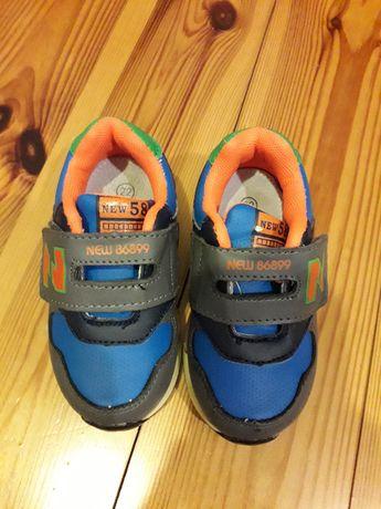 buty półbuty r. 22
