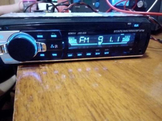 Auto-Rádio Mp3 bluetooth/Microfone incorporado/Kit maos livres NOVO